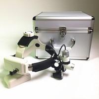 3W LED Medical Headlight Surgical Headlamp+2.5X Medical Loupes Binocular Magnifier Medical Dental Surgical Loupe Aluminum Box