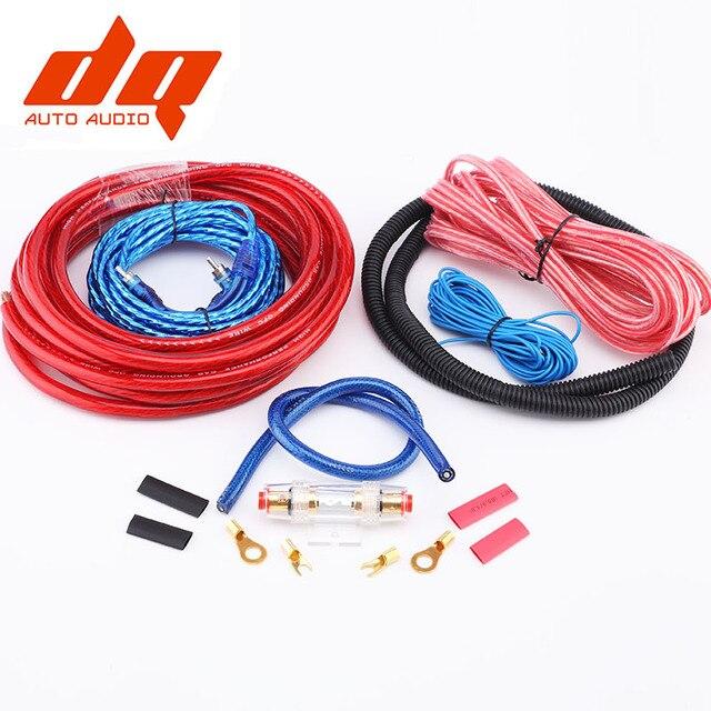 1500 Nuevo 2017 W 4ga Cables De Audio Para Coche Cable Cableado