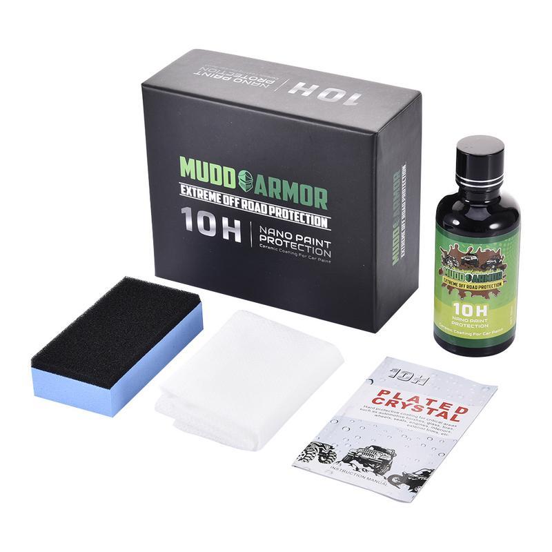 Anti-scratch 50ml Super Hydrophobic Coat 10H Ceramic Car Coating Liquid Glass Waterproof Nano Ceramic Car Paint Care