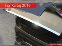 Car Rearguards Trunk Rear Bumper Tail Box Trim Car Styling For Skoda Karoq 2017 2018