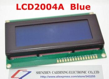 Envío Gratis LCD Board 2004 20*4 LCD 20X4 5 V pantalla azul LCD2004 pantalla LCD módulo LCD 2004 para arduino