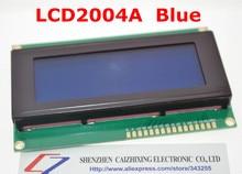 SUQ LCD מועצת 2004 20*4 LCD 20X4 5V כחול מסך LCD2004 תצוגת LCD מודול LCD 2004 עבור arduino