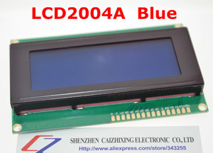 Image 1 - SUQ LCD Board 2004 20*4 LCD 20X4 5Vหน้าจอสีน้ำเงินLCD2004จอแสดงผลLCDโมดูลLCD 2004สำหรับarduino
