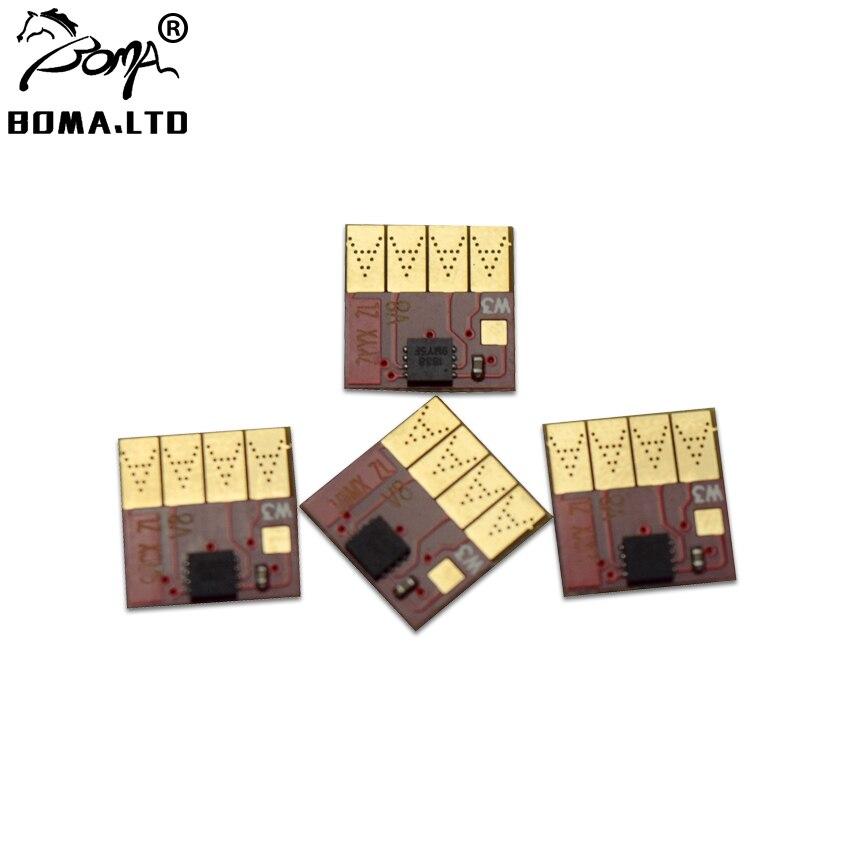 HOT!! Para HP711 Auto Sistema Ciss Cartucho de Chip de Reset Para HP 711 Officejet ProT120 T520 Continuuous Em Massa de Tinta Sistema de Abastecimento