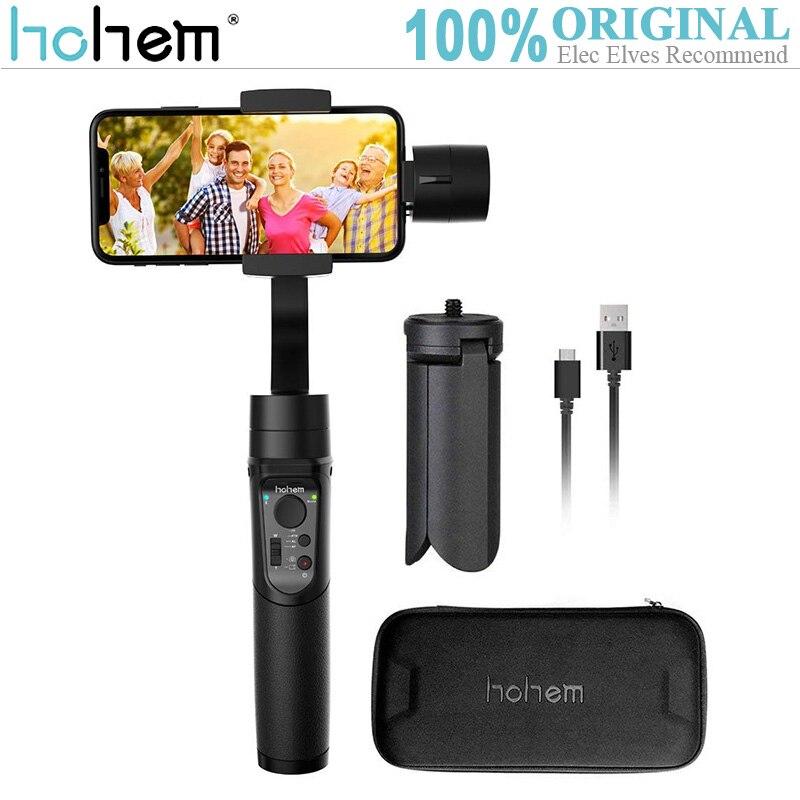 Hohem ISteady cardans de poche stabilisateur de poche à 3 axes pour téléphone portable suivi automatique 12 heures de travail cardan Mobile