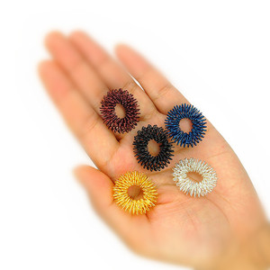 Image 5 - 5pcs Finger massager massage Ring Health Care Set Home Use Health Care Tools Acupressure figure Massager Relax Finger Hand Care