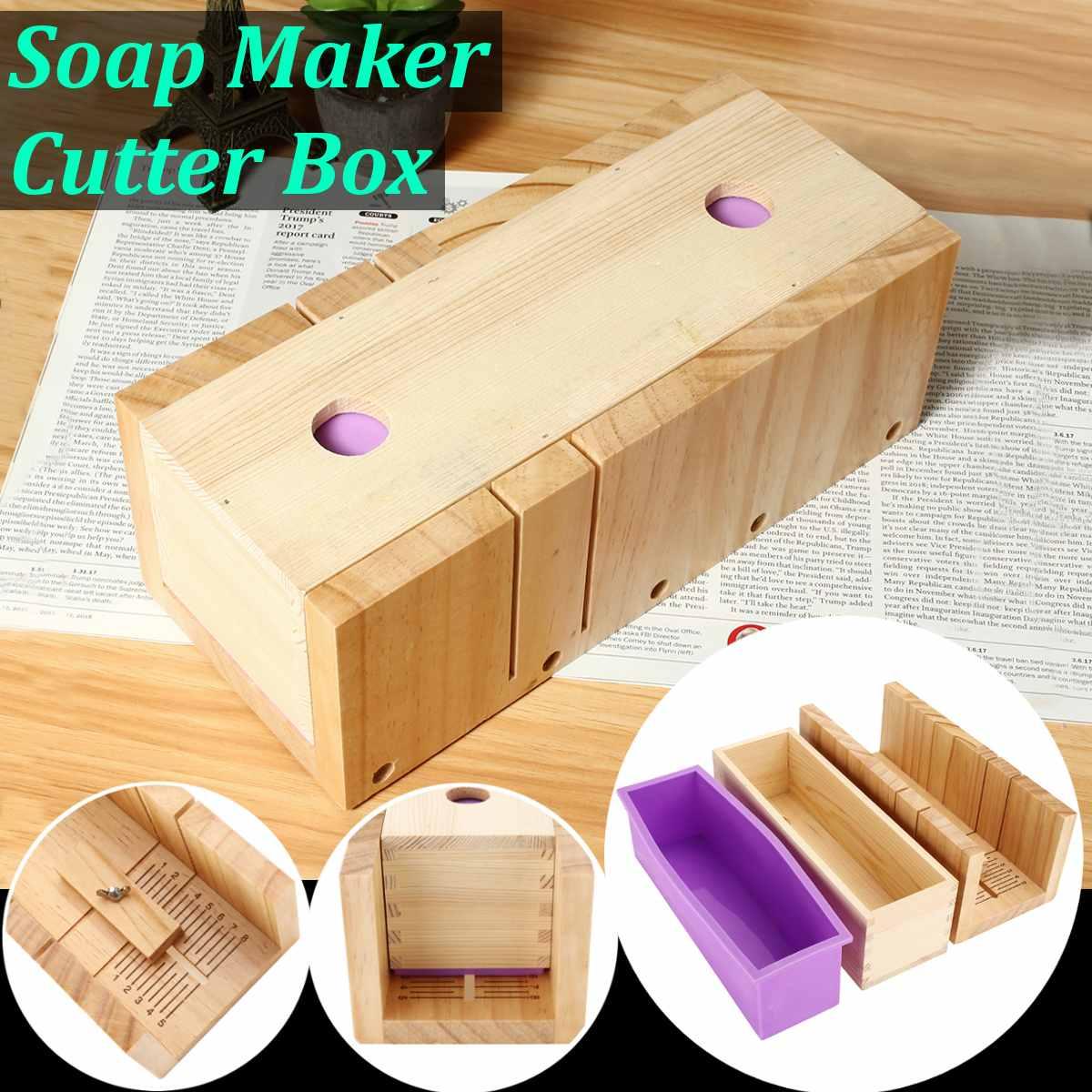 Мыло режущие инструменты Наборы регулируемый древесины каравай резак коробки DIY мыло ручной работы принятия поставки со шкалой и долбежные...