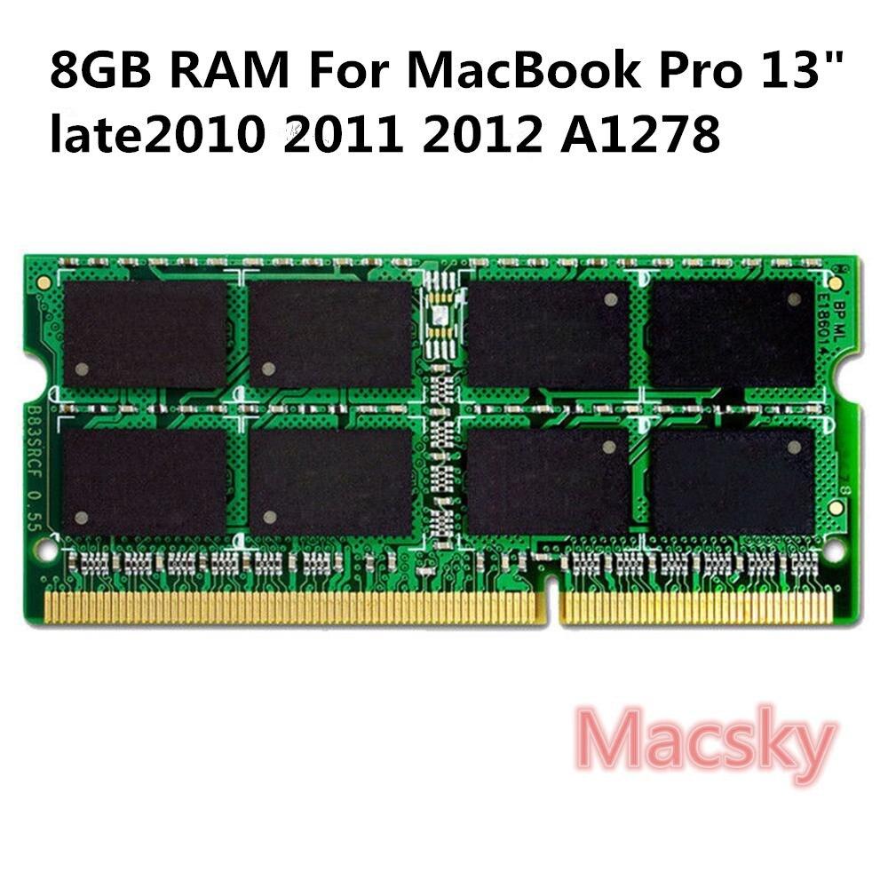 D'origine Ordinateur Portable Mémoire 8 gb RAM 1600 mhz PC3-12800 DDR3L Mémoire pour MacBook Pro 13