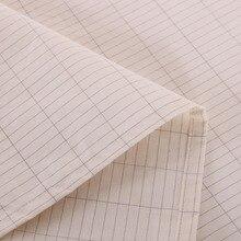 Наземный лист ткань серебро и хлопок ткань