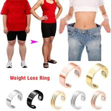28 Days Natural Fat Burning Fashion Micro Magnetic Weight Loss Ring