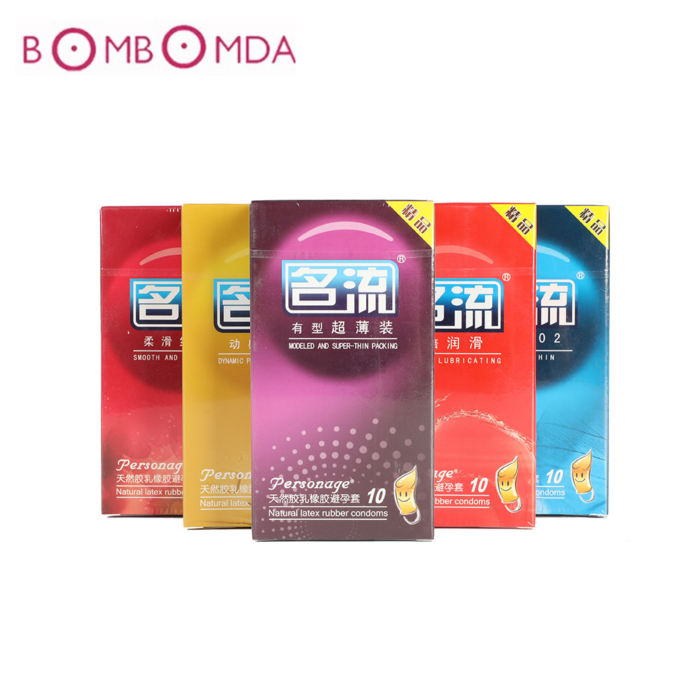 1/6/10pc Ultra-thin Condoms Sex Product Men Delay Ejaculation Penis Cock Sleeve  Natural Latex Male Condoms Safer Contraception