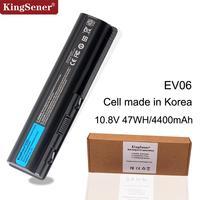 Korea Cell New EV06 Battery for HP Pavilion DV4 DV5 DV6 for Compaq Presario CQ50 CQ71 CQ70 CQ61 CQ60 CQ45 CQ41 CQ40 HSTNN LB73