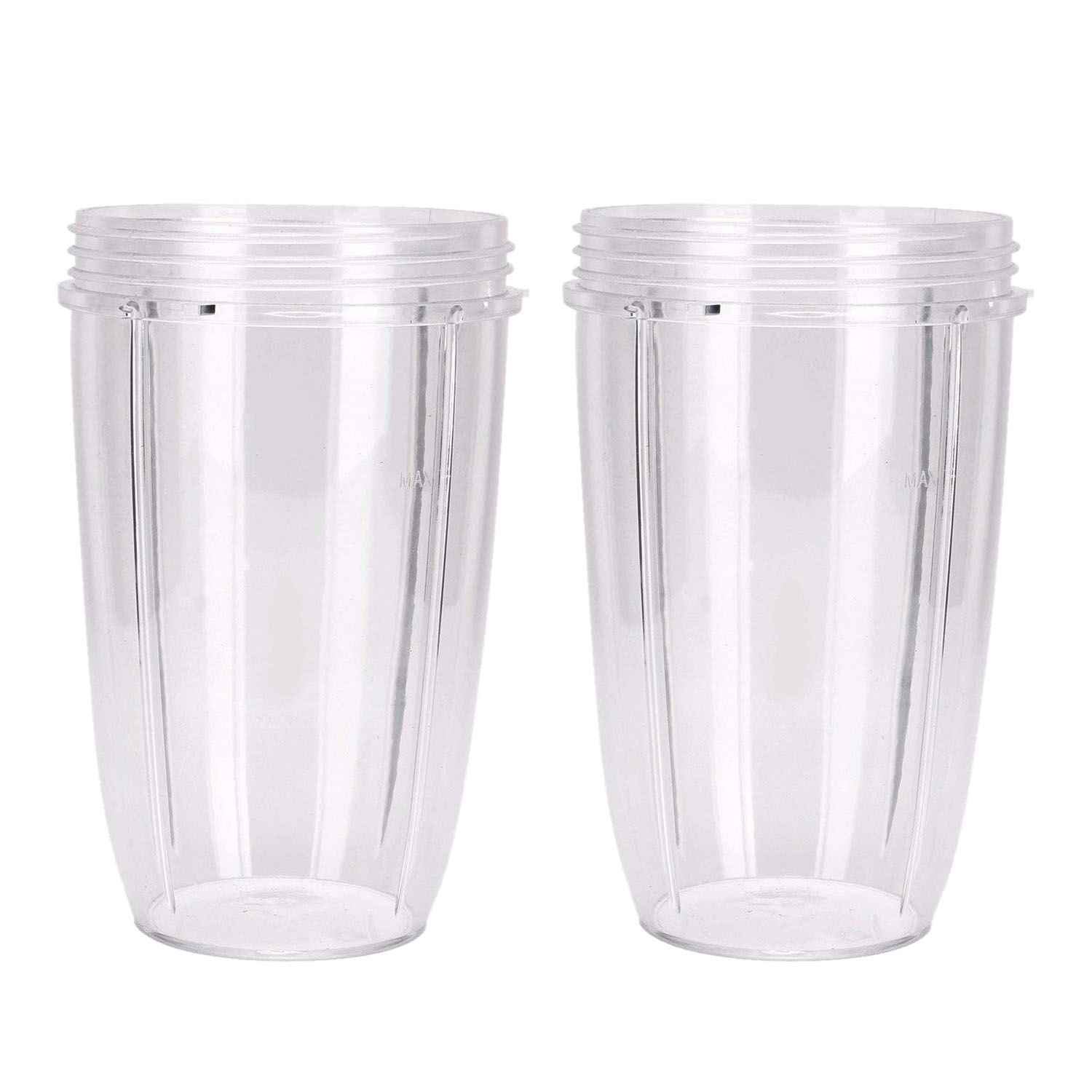 2PCS Juicer Cup Mug Clear Replacement For NutriBullet Nutri Bullet Juicer
