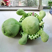 2020 Big Eyes Soft Home Decor Plush Doll Turtle Lovely Toy Cute Kids Children Presents Gifts Tortoise Toys Cotton Adorable Funny(China)