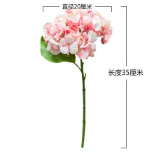 Wholesale Simulation Hydrangea Artificial Flowers DIY Wedding Wall Road Lead Decoration S