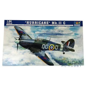Trumpeter 02415 1/24 Scale Plane British Hurricane MK.II Aircraft Model TH05417-SMT2 image