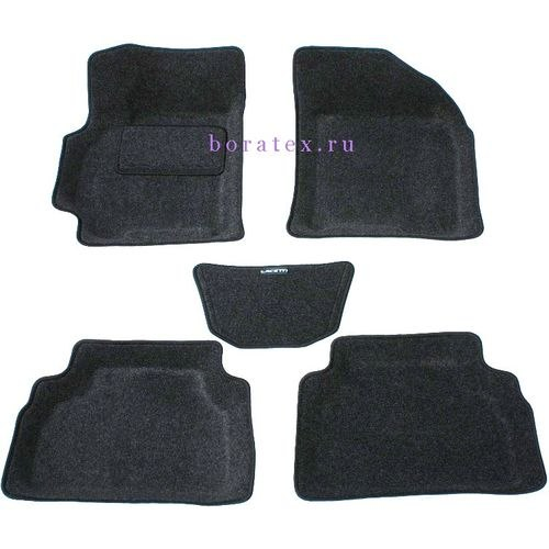 3D carpet BORATEX BRTX-1007 for Chevrolet Lacetti 2004-dark gray brand new for 2004 2005 bodywork suzuki gsxr 600 750 gray black fairing kit k4 gsxr600 dfv 04 05 gsxr750 fairings kits