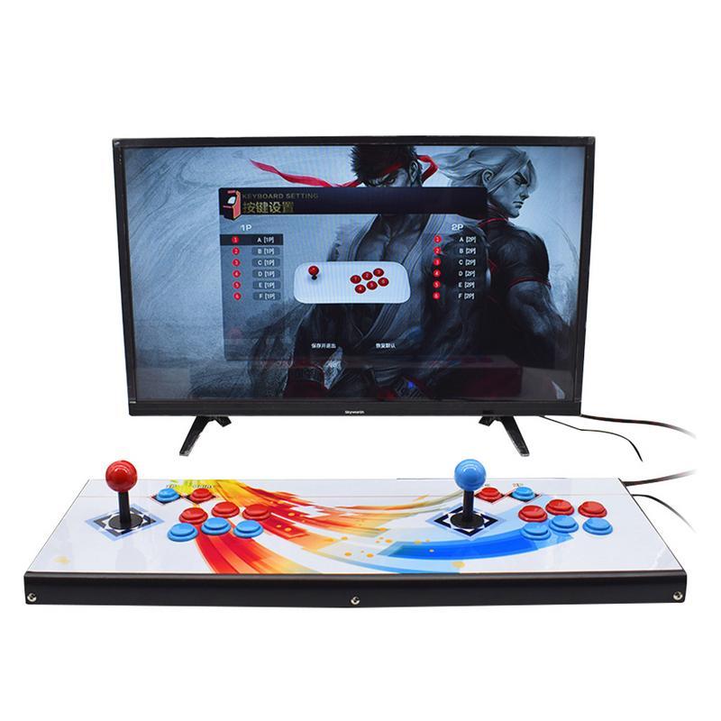Arcade Video Game 2260 Games Full HD 1920x1080 Video Arcade Console USB and TF/Micro SD Ports Mini Arcade Machine