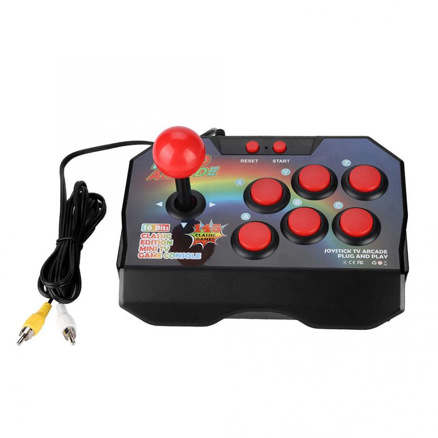 gamepad GC23 Arcade Game Big Rocker/Joystick 16-bit Game Console Game Controller Comfortable Grasp switch controller