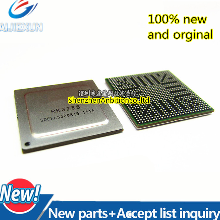 1pcs New And Orginal RK3288 FBGA-636 1.8GHz Quad Core CPU Processor Chip Set Top Box Main Control 3288 In Stock