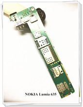 Russia language Original Motherboard For Nokia LUMIA 635 RM-979 single sim Mainboard Board free shipping цена 2017