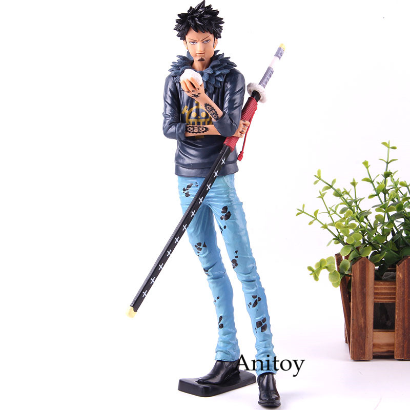 Anime One Piece Figure Grandista The Grandling Men Trafalgar Law Action Figure Collection Model Toy image
