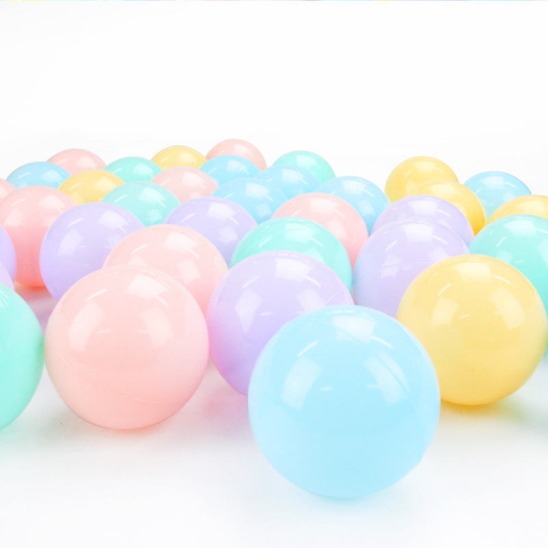100 Pcs/lot Eco-Friendly Colorful Ball Soft Plastic Ocean Ball Funny Baby Kid Swim Pit Toy Water Pool Ocean Wave Ball Dia 5.5c