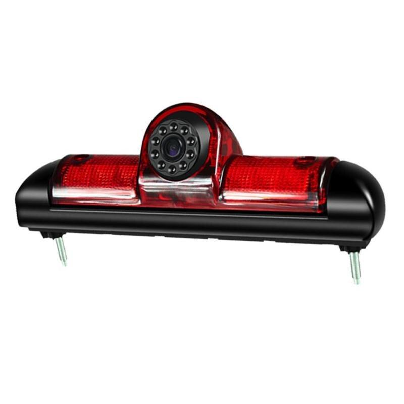 12V IP68 Auto Car 3rd Brake Light IR Night Vision IP68 Waterproof Rear View Camera for