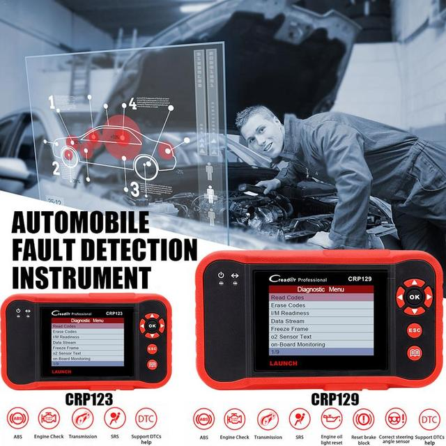 Best Offers Fault Detection Instrument Automobile Diagnostic Equipment Tool for ENG/AT/ABS/SRS EPB/Oil/SAS Reset X431 CRP 129/123 Scanner
