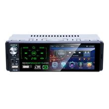 1Din 4.1in Capacitivo Dell'automobile Dello Schermo di Tocco MP5 Player RDS AM FM Radio TF USB Auto Lettore Audio BT Musica Lossless telecomando AUX
