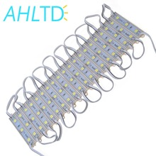 цена на 20PCS 5050 3 LED Module Lighting for Sign DC 12V Waterproof Superbright Smd led Modules Cool White / Warm white/Blue/Red Color