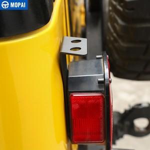 Image 4 - Mopai車のテールランプアンテナホルダージープラングラーtj 1997 から 2006 のための車のテールライトアンテナブラケットジープラングラーのためtjアクセサリー
