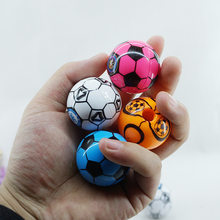 Ellen Brook 1 Piece Lovely Cute Kawaii Cnady Color Football Sharpeners Korean Stationery School Office Supplies Novelty Kid Gift(China)