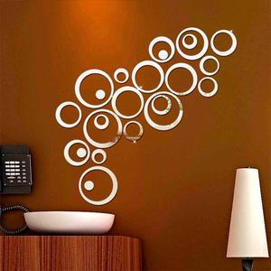 New 24pcs/set 3D DIY Circles W
