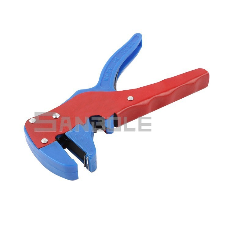 Купить с кэшбэком Piler Small-sized Mini- Automatic Peel Wire Cable Stripper Stripping Crimper Electrician Clamp Wire Peeling type 0.2-3mm