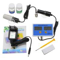 2in1 Digital Salinity & PH Meter Water Quality Monitor Test pH 2771 for Aquarium Online PH/Salinity Monitor