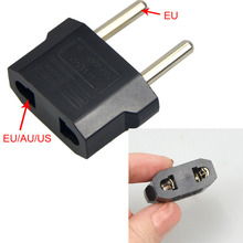1 шт. 220 В/5A ЕС адаптер портативный практичный двойной разъем Черный цвет преобразования штепсельная розетка адаптер