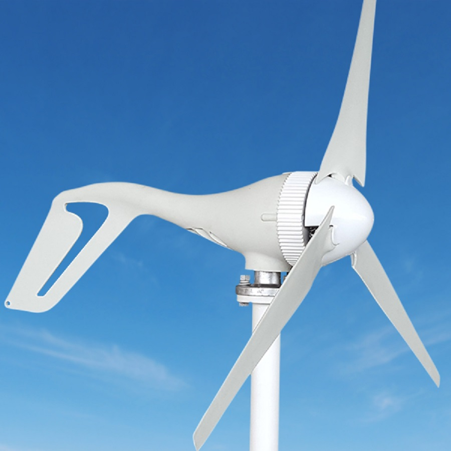 Fabricant générateur de vent 24 V alternateur énergie éolienne générateur 630mm longueur des pales avec contrôleur de Charge Kit Eolico