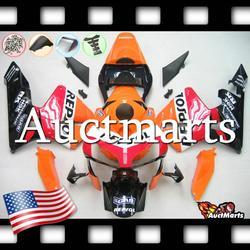 For Honda CBR600RR CBR 600 RR 2003 2004 03 04 Fairing Kit ABS Plastics (P/N:1a35)