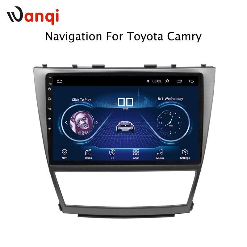 10.1 pollice Android 8.1 GPS del DVD Dell'automobile per Toyota camry 2006-2012 Sistema di Navigazione Audio Stereo Radio Video Bluetooth