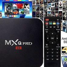 NEW MXQ Pro 4K Ultra HD 3D 64Bit Android 7.1 Quad Core