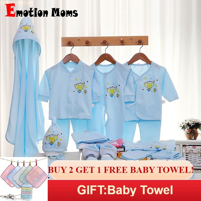a4df0f0b9d3 Emotion Moms 29PCS set newborn baby girls clothes cotton 0-6months infants  baby girl boys clothing set baby gift set without box