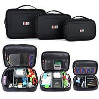 BUBM Travel Electronic Organizer Gadgets Electronics Accessories Storage Bag for USB Power Bank Flash Hard Drive  Cord Organizer|Bags|   -