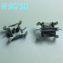 2pcs/lot 1:160 N Scale Train Model Accessories Decorative Pantograph