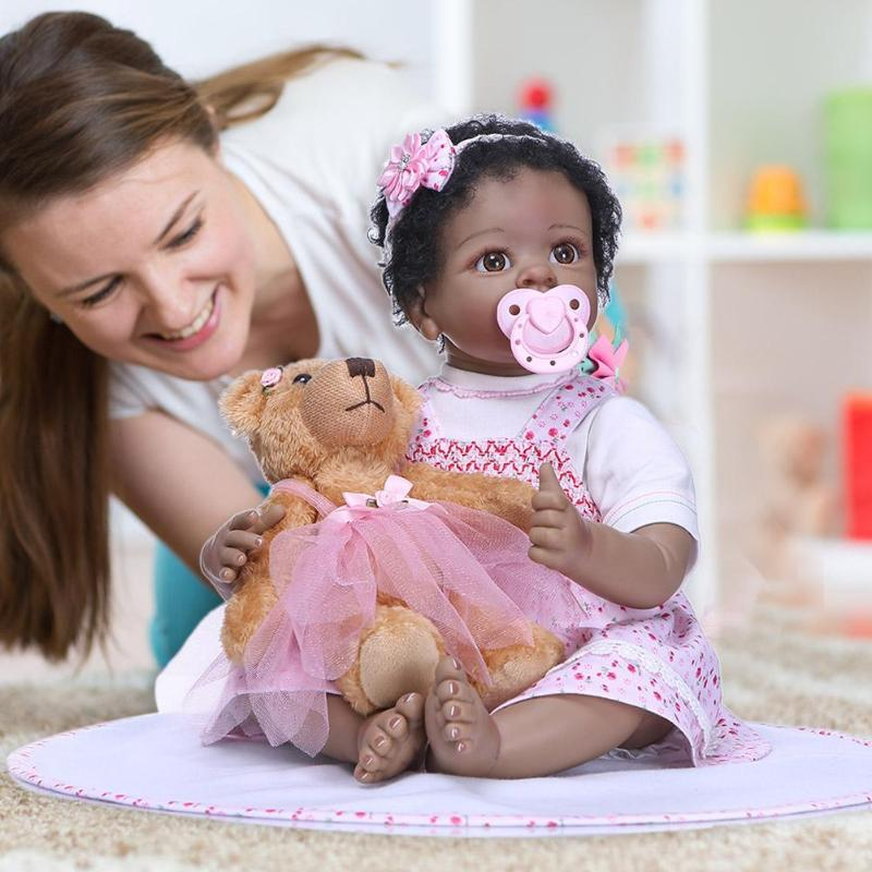 2019 New NPK Newborn Reborn Baby Dolls Silicone Cute Soft Simulation Doll Toy for Kids Gift Decors for Children Gift
