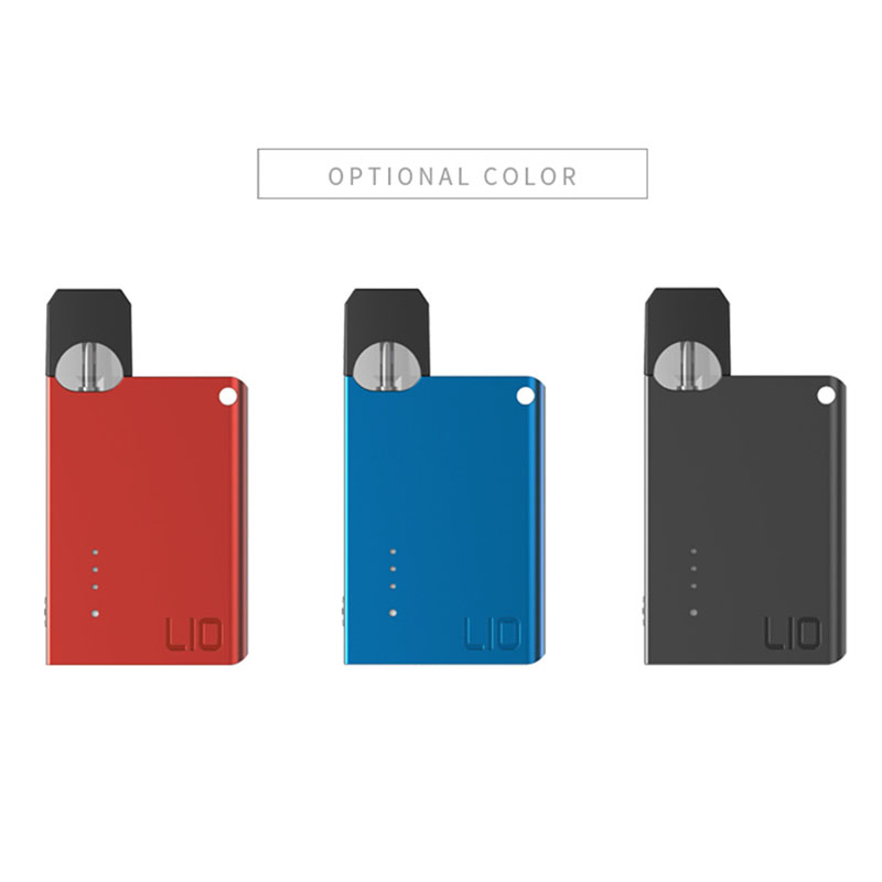 Lio Pod Vaporizer Kit With 0.7Ml Pod Cartridge 300Mah Battery Vape Kit Electronic Cigarette Kit