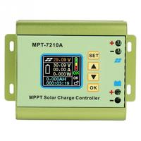 Hot MPT 7210A MPPT Solar Controller Aluminum Alloy LCD Display Solar Panel Charge Controller For Battery
