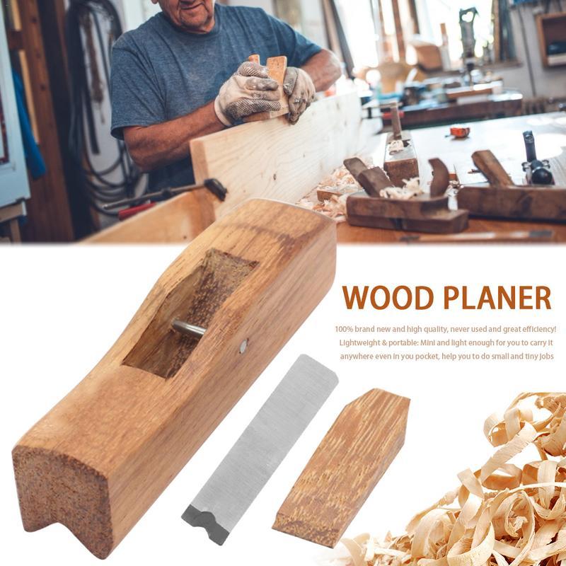 Indonesien Mahagoni Holz Hobel Hand Werkzeuge Radius Flugzeug Werkzeuge Für Rand Trimmen/ecke Gestaltung/fase/innen Winkel Handhobel
