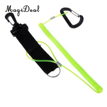 2 in 1 Kayak Paddle Leash, Fishing Rod Coiled Lanyard Cord 280 cm/110 inch for Fishing Flatable Boat Dinghy Yacht Accessories kayak canoe elastic bungee shock cord with hook lanyard fishing rod surfboard paddle safety leash ropes rowing boats accessories