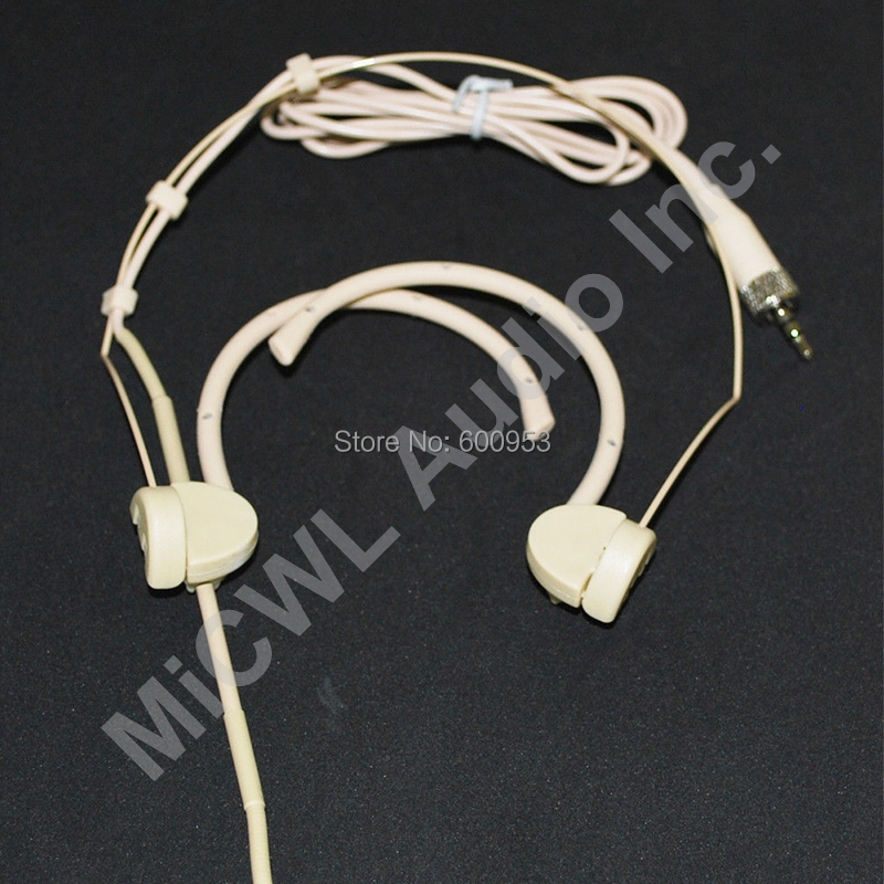 Pro Wireless Stage Song Headset Microphone For MiPro Wireless Microphones System Beige Folding SP12 in Microphones from Consumer Electronics